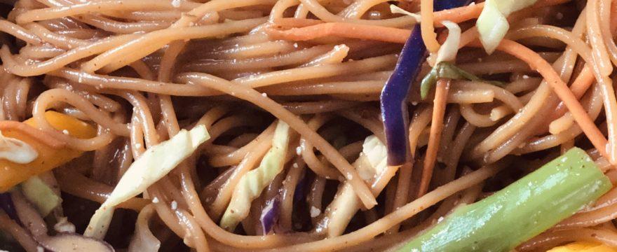 Sam's Spring Vegetable Pad Thai Recipe